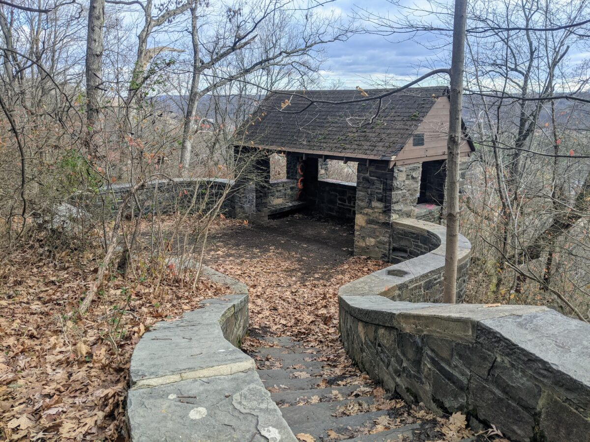 The Oakdale Trail and Lenape Loop at South Mountain Reservation