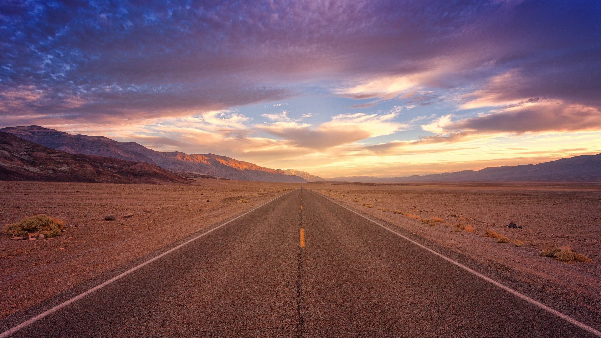 A stretch of road. How many miles should you run?